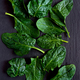 raw fresh spinach leaves on ardesia stone - PhotoDune Item for Sale