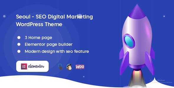 Seoul - SEO Digital Marketing WordPress Theme
