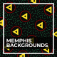 Memphis Backgrounds - VideoHive Item for Sale