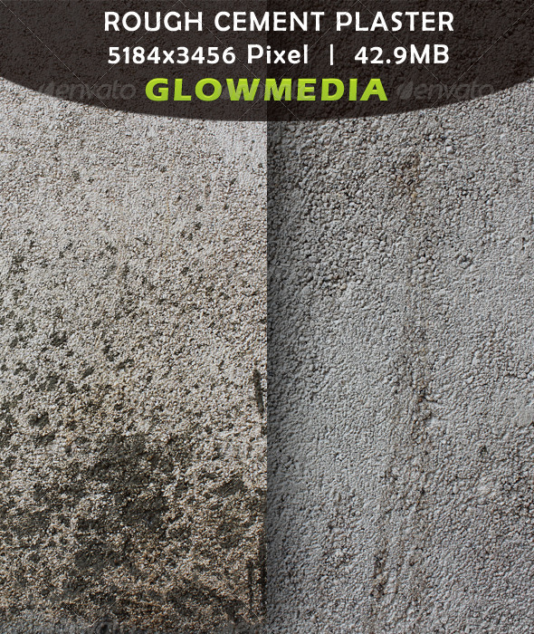 Rough Cement Plaster - Concrete Textures