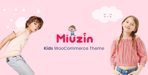 Miuzin - Kids WooCommerce WordPress Theme