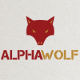 Alpha Wolf Logo Template - GraphicRiver Item for Sale