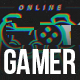 Gamer Glitch Logo Reveal - VideoHive Item for Sale