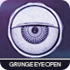 Grunge Eye Open Logo - VideoHive Item for Sale