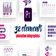 Infographics Vol.14 for Premiere Pro - VideoHive Item for Sale