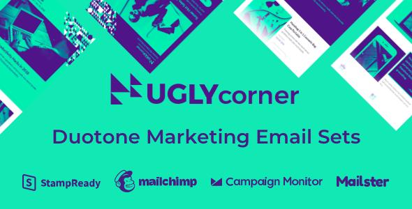 UglyCorner - Duotone Marketing Email Sets by webtunes