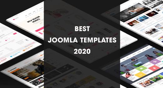 Best Joomla Templates 2020 - Best Selling Joomla Templates in 2020