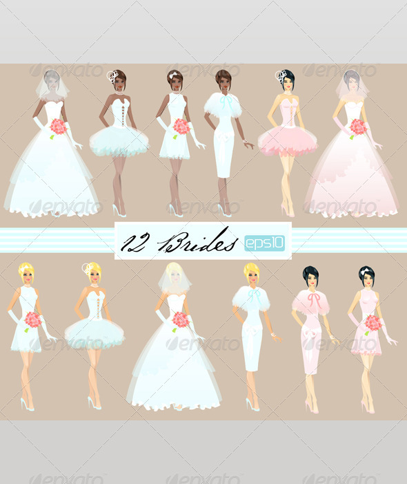 Twelve Brides - People Characters