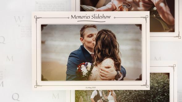 Photo Memories And Moments Slideshow