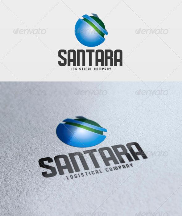 Santara Logo - Vector Abstract