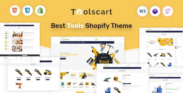 Toolscart - Tools Store Shopify Theme