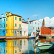 Boats and colored houses - PhotoDune Item for Sale