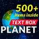 Text Box Planet v1.0 - VideoHive Item for Sale