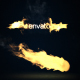 Flying Fire Logo Reveal - VideoHive Item for Sale