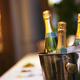 Bottles of champagne on ice bucket - PhotoDune Item for Sale