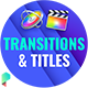 Titles and Transitions for Final Cut Pro - VideoHive Item for Sale