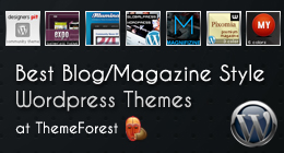 Wordpress Blog/Magazine Themes