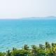 Beautiful tropical nature of beach sea ocean bay around coconut palm tree - PhotoDune Item for Sale
