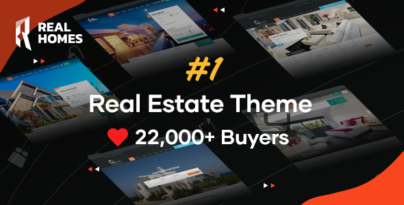 Excellent RealHomes - Estate Sale and Rental WordPress Theme