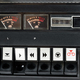 Closeup of control buttons of old audio tape recorder - PhotoDune Item for Sale