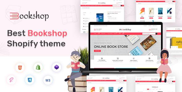 BooksCart  - eBooks , Book Store Shopify Theme