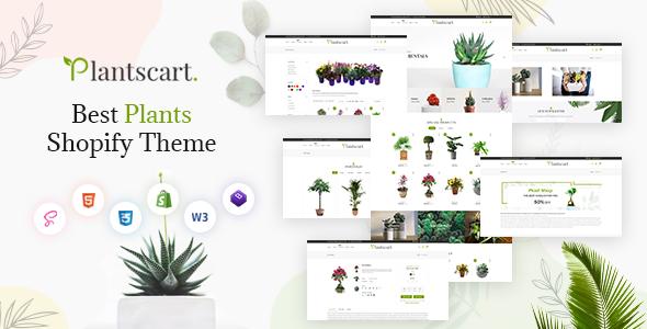 Plantscart - Nursery Plants Shopify Multi-Purpose Responsive Theme