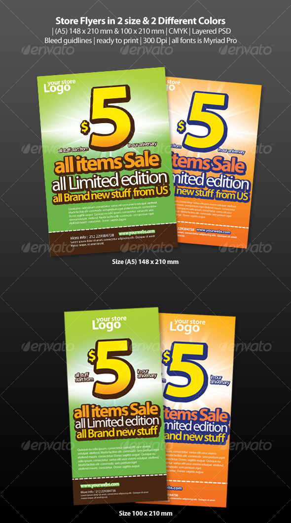 Store Flyers - Commerce Flyers