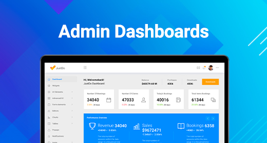 Best selling dashboard templates by BootstrapDash