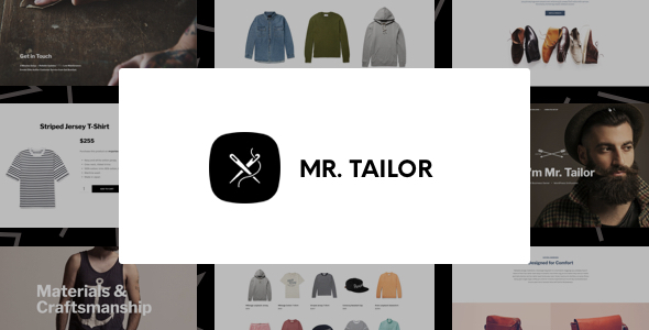 Mr. Tailor - eCommerce WordPress Theme for WooCommerce