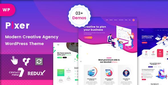 Download Pixer – Digital Agency WordPress Free Nulled