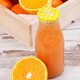 Freshly blended coctail or smoothie from citrus fruits - PhotoDune Item for Sale