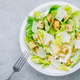 Classic Caesar Salad with Romaine Lettuce with Parmesan cheese and crunchy croutons. - PhotoDune Item for Sale