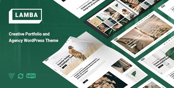 Download Lamba – Creative Portfolio & Agency WordPress Theme Free Nulled