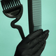 Composition with scissors and other hairdresser's accessories - PhotoDune Item for Sale