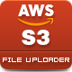 AWS Amazon S3 - File Uploader
