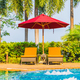 Portrait beautiful young asian woman relax around swimming pool in hotel resort - PhotoDune Item for Sale