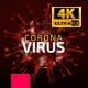 Corona Virus Titles CovID Loop 4K - VideoHive Item for Sale
