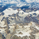 Aerial view of Ladakh region from the airplane window, India. - PhotoDune Item for Sale