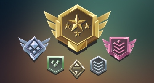 Badge and Rank icons