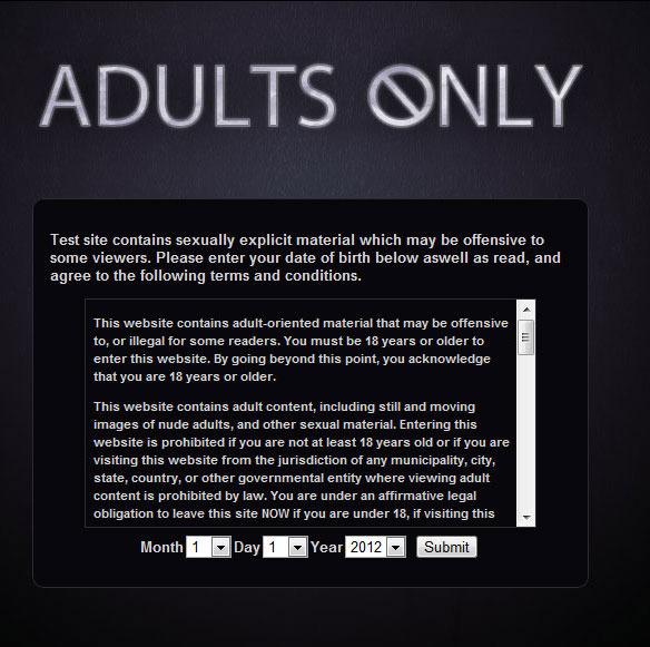 Adult dating site myspace.com