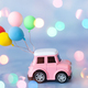 Toy car with balloons - PhotoDune Item for Sale