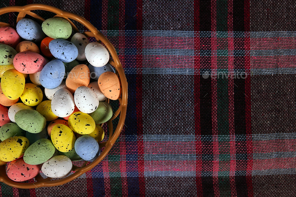 Colorful Traditional Easter Paschal Eggs - Stock Photo - Images