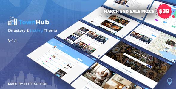 TownHub - Directory & Listing WordPress Theme