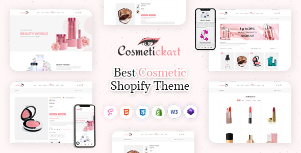 CosmeticKart- Beauty & Cosmetics Shopify Theme