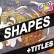 Shapes And Titles | FCPX - VideoHive Item for Sale