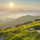 Mountain sunset landscape. - PhotoDune Item for Sale