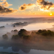 Beautiful misty dawn in the spring on the river - PhotoDune Item for Sale