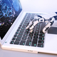 Robot's hand typing on keyboard - PhotoDune Item for Sale