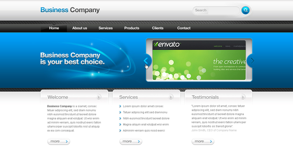 Business Template #02 - Business Corporate