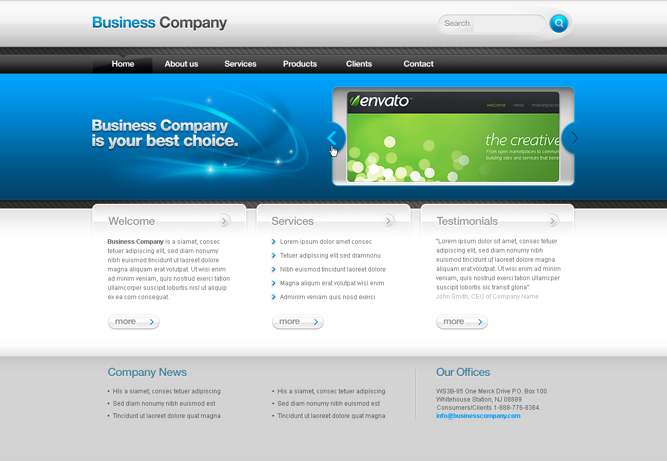Free Download Business Template #02 Nulled Latest Version